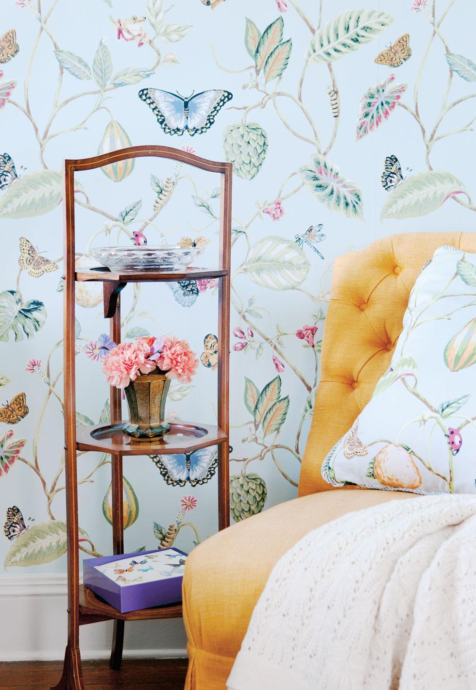 Sovrum som blommar – hus & hem