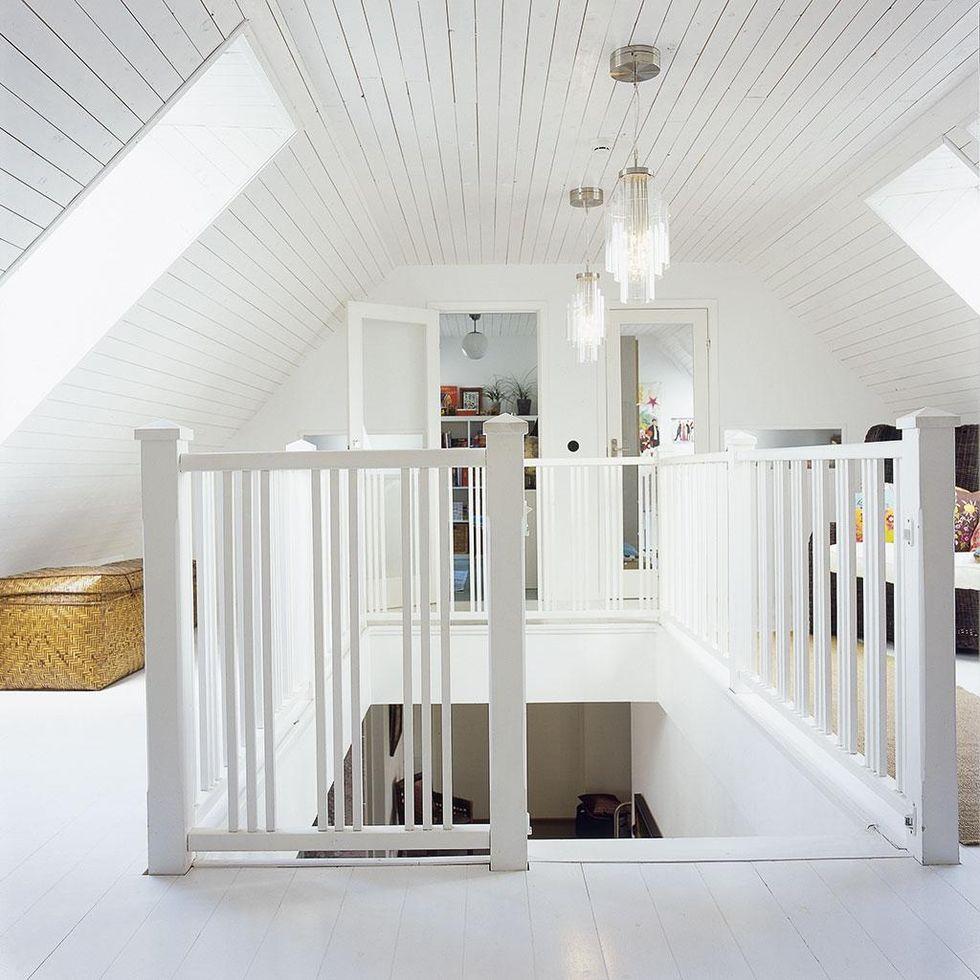 Enkel biljett till sterlen hus hem for Loft additions