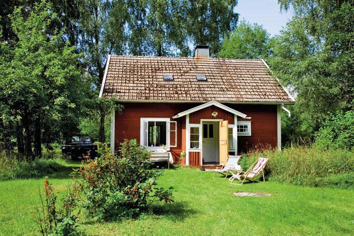 Lata dagar i soldattorpet hus hem for Piccole planimetrie delle case di campagna