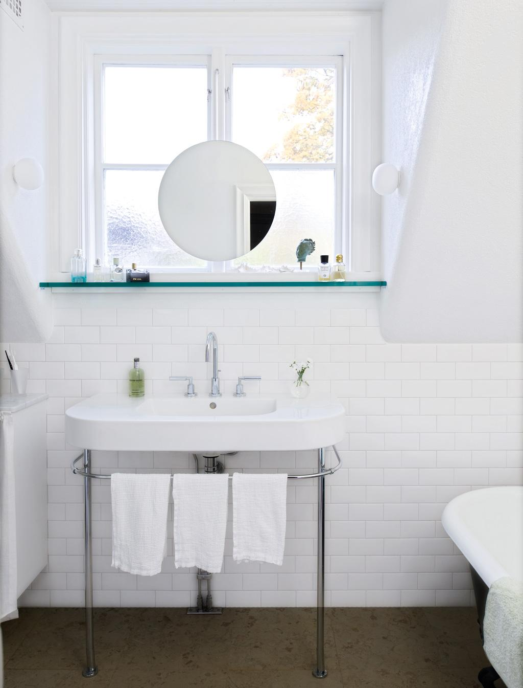Badrum små badrum inspiration : Modernt badrum med 20-talstouch – Hus & Hem