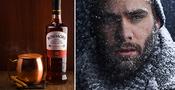 Stå ut med iskylan med varm choklad och whisky