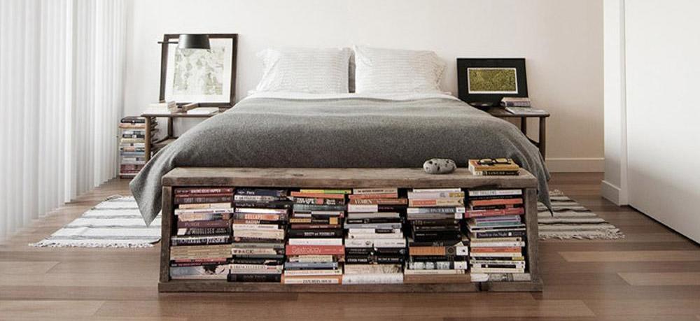 11 kreativa idéer för foten av sängen