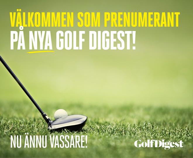 Investera i din golf och följ med oss in i golfens läckra värld!