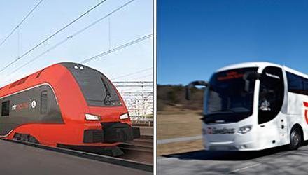Tågbokningen – jämförelsesajt för tåg och buss