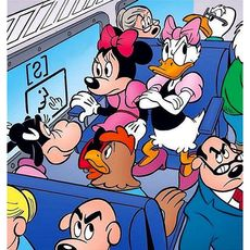 Tjejresan kom av sig när det visade sig att de bokat platser i den tysta vagnen. #disney #tjejresa