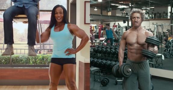 Muskler allt vanligare i reklam