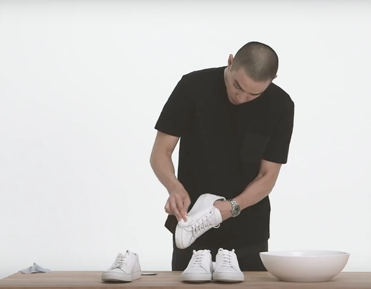 Veckans videotips - Så håller du dina sneakers vita