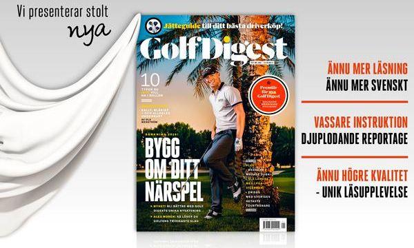 Välkommen till nya Golf Digest