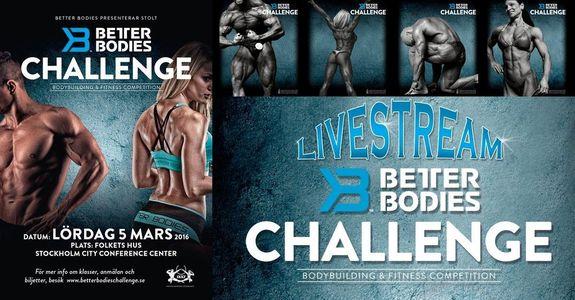 Debut för Better Bodies Challenge