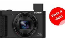Vinn en digital kompaktkamera från Sony