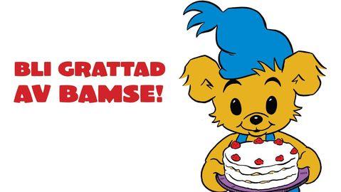 Vill du bli grattad av Bamse på din födelsedag?
