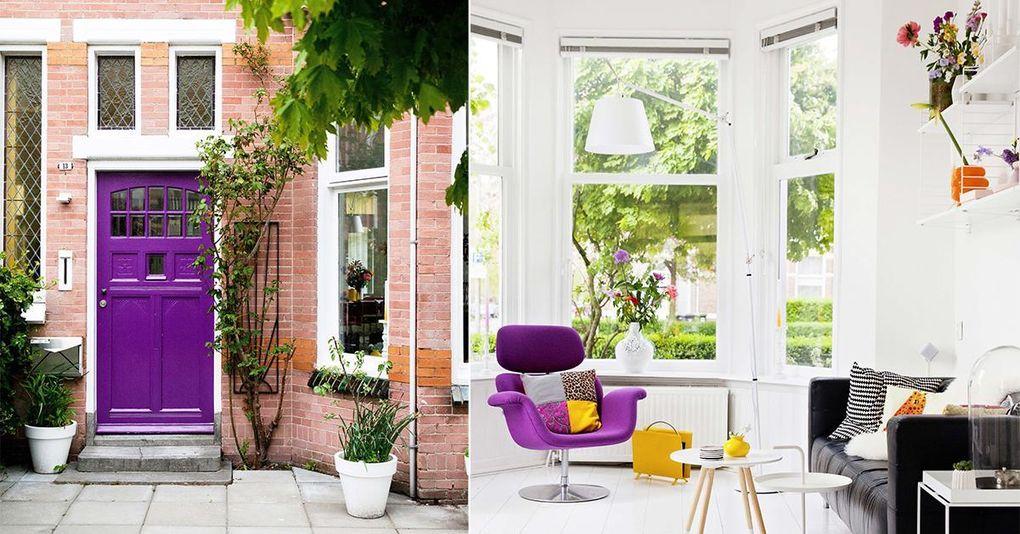 Veckans hem: Färgstarka designfynd och krispigt vitt