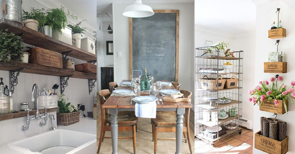 Lantligt drömkök – så här skapar du looken hemma