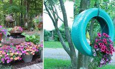 """17 fina """"gör det själv""""-idéer för din trädgård"""