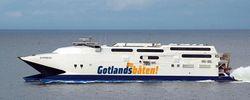Premiär för ny färjelinje till Gotland