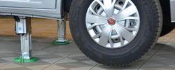 Premiär för elektriskt stödben till husbil