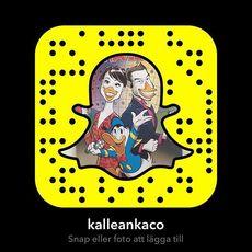 Följ Kalle Anka på Snapchat!  #snapchat