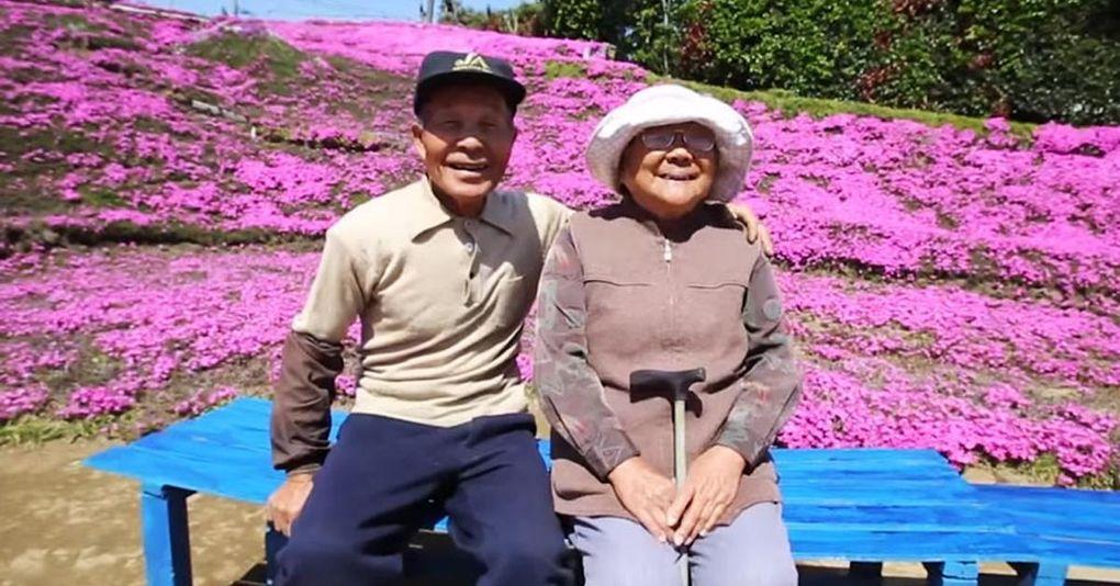 Den här mannen skapade en drömträdgård till sin blinda hustru
