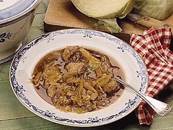 kålsoppa frikadeller recept