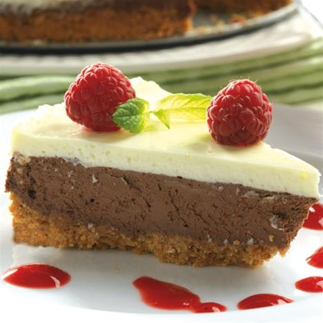 cheesecake hallon choklad