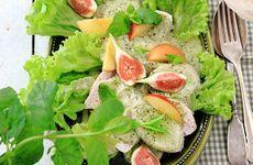 Kalkonfilé under salsa verdetäcke