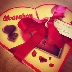 Oh, titta vad vi fick till redaktionen! Ett #marabougram