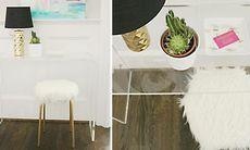 Ikeahack: Så gör du en pall till sminkbordet värdig en stjärna