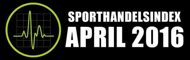 Sporthandeln backade i april