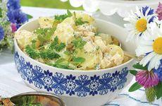 Örtig potatissallad