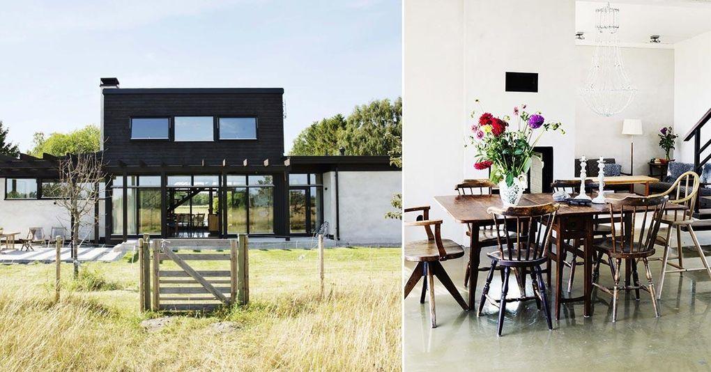 """Veckans hem: """"Det här huset är faktiskt snyggt även när det är stökigt"""""""
