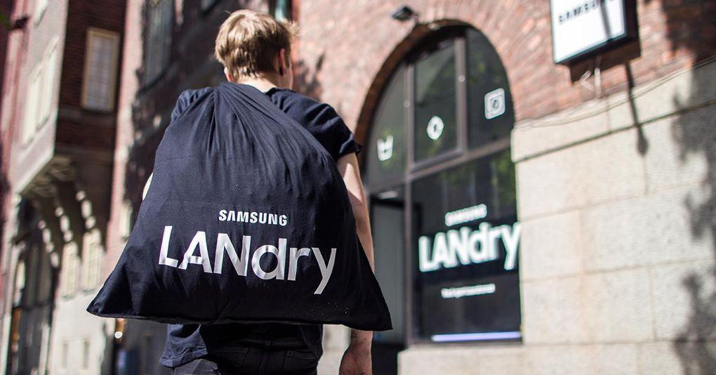 Världens första gaming-tvättomat ska få tonåringar att bli bättre på att tvätta