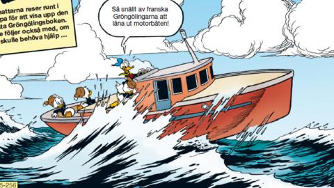 Gröngölingsboken sätter kurs mot England i Kalle Anka & C:o 27!
