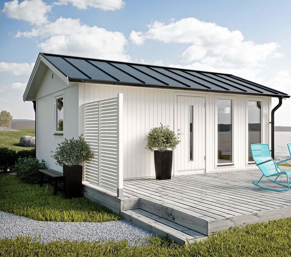 8 fina sm̴hus du f̴r bygga utan bygglov Рhus & hem