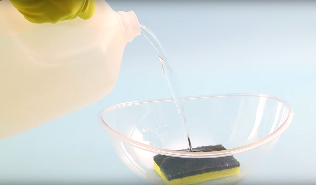 Din kökssvamp innehåller MASSOR av bakterier – så här rengör du den