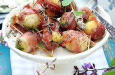 Färskpotatis saltimbocca