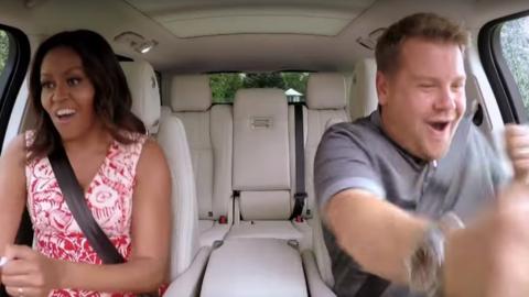 Carpool Karaoke med Michelle Obama?!
