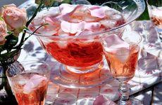 Alkoholfritt rosenbål