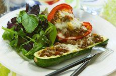 Färsfyllda grönsaker i veckans meny