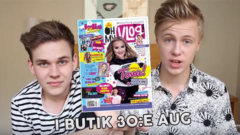 Julia Stars: OH My Vlog!-redaktörerna Manfred och Johannes avslöjar sina favoritcollabs!