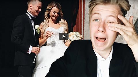 Se Manfreds vlogg från Jocke och Jonnas bröllop!