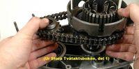 Svart sörja i oljan på DKW 250