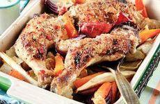 Kycklingklubbor med honungsglaze i helgens meny!