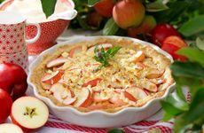Älskade äppelpaj!