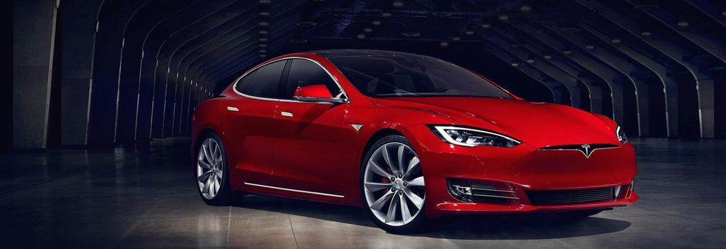 Tesla Model S P100D comes & # xF6; ver  magical gr & # XE4; NSE
