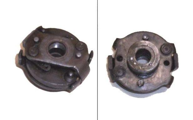 Hur byter man fiberdrevet i magneten på en Triumph 1954?