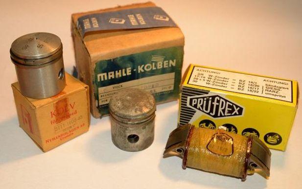 Nostalgi: Resersvdelar till motorn