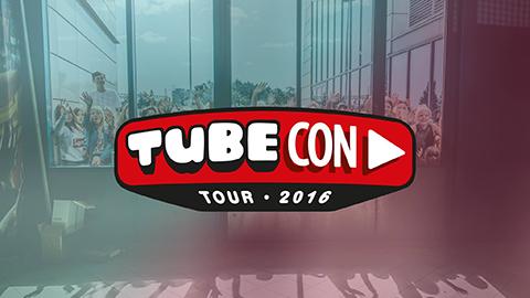 Du kan vinna VIP-paket till Tubecon Tour 2016!