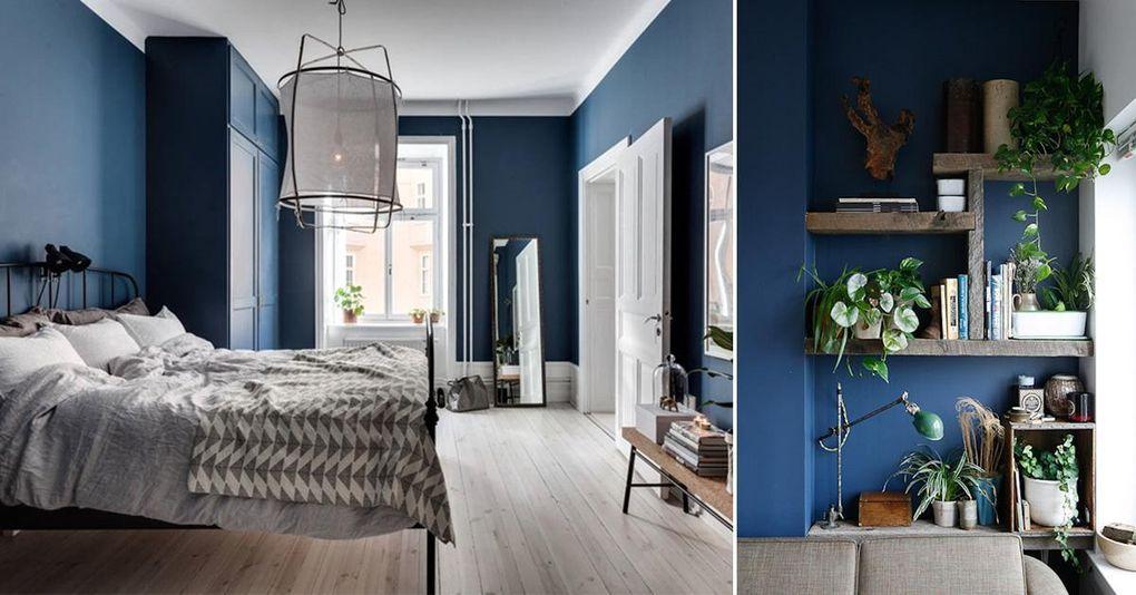 11 inspirerande tips på hur du inreder med blått Hus& Hem