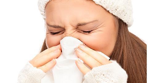 förkyld varje morgon