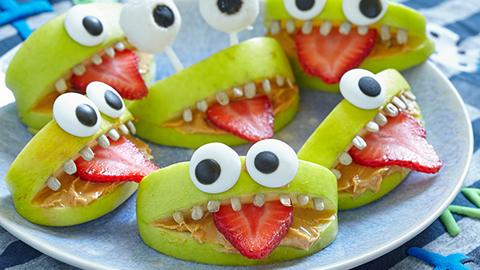 Så gör du läääskigt gott snacks till Halloween!